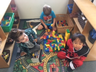 """Our lego and blocks creation""- Ms. Kasey's Class"