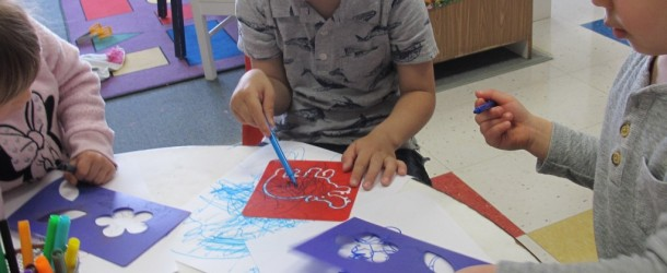 Stencils with Room 9