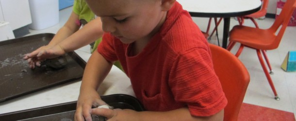 Creating With Clay in Room 9