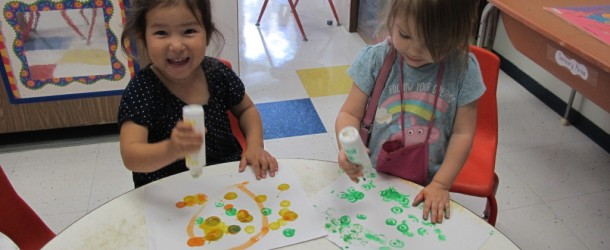 Dot Painting with Room 9